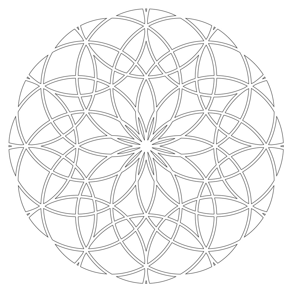 sacred mandala coloring pages - photo#24