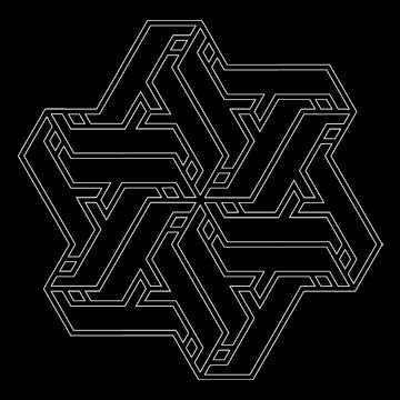 geometric, islamic, Myoshka, triskele, triskelion · Leave a Comment